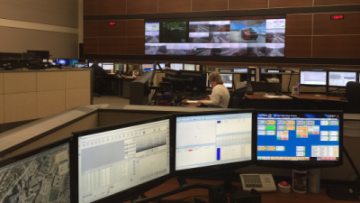 New York State Police command center